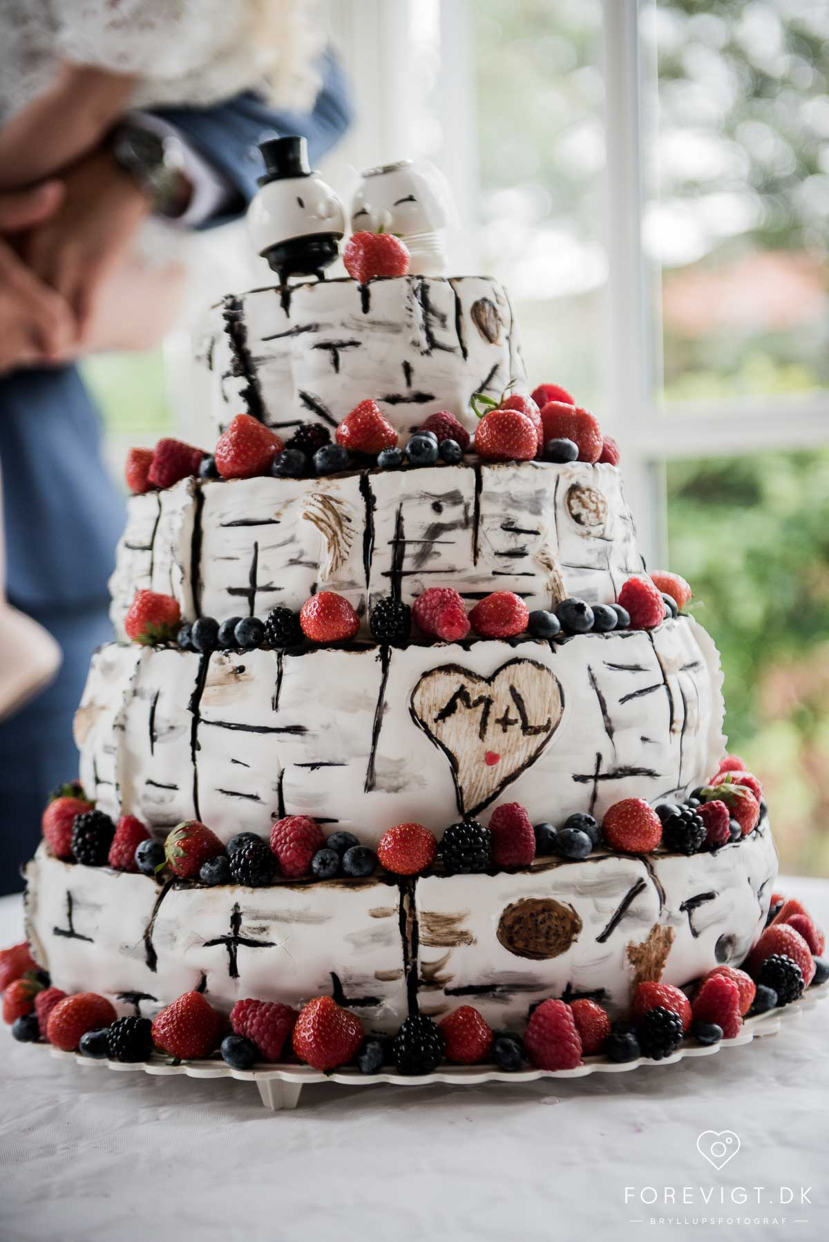 inspiration til den perfekte bryllupskage