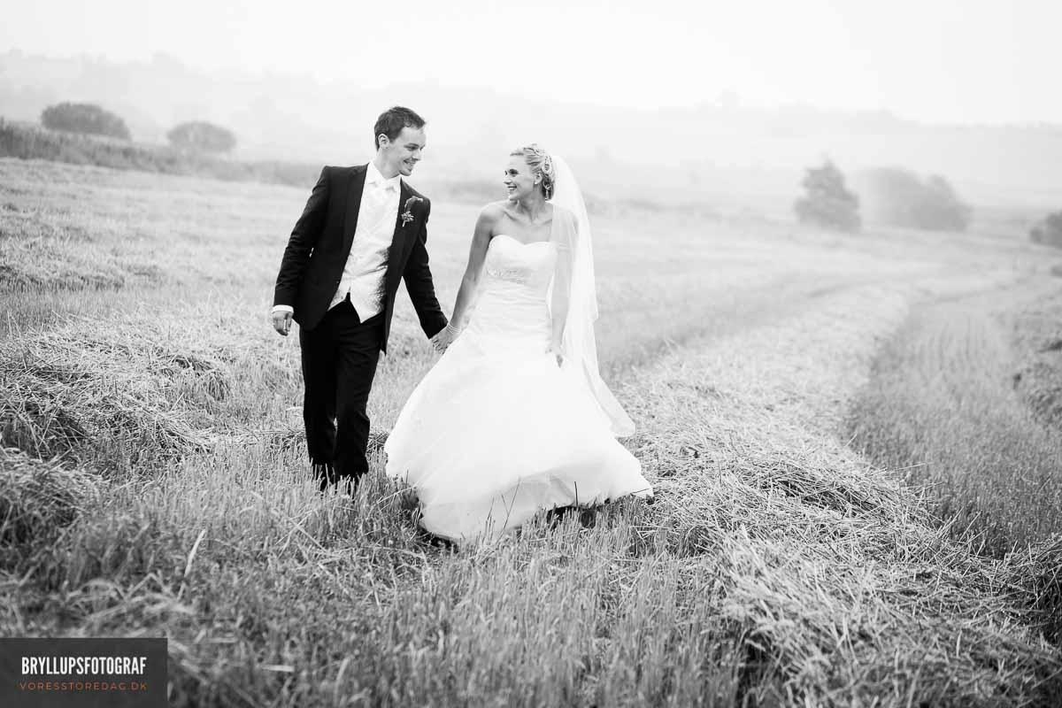 Dine bryllupsbilleder vil måske være minderne om livet