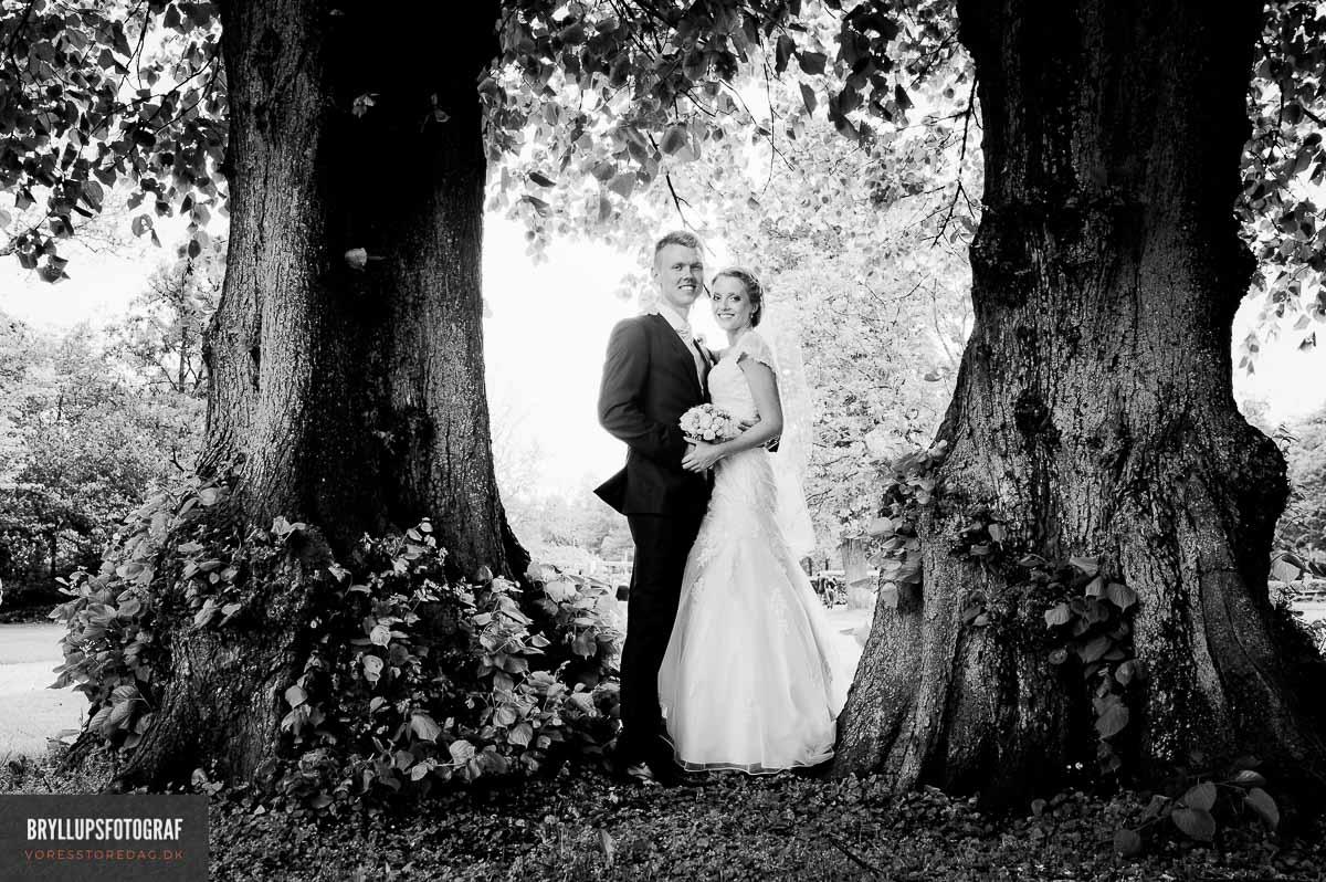 bryllupsfotograf med kendskab til Nordjylland