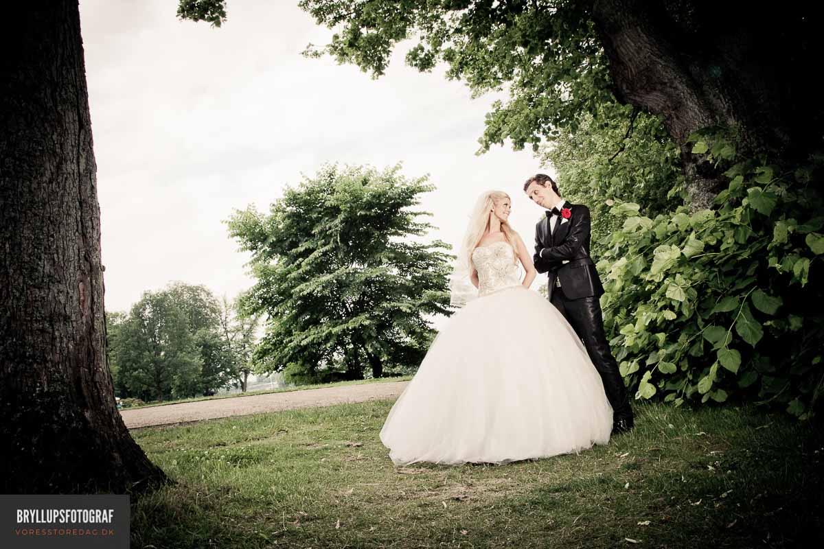 Ordet bryllup kommer av brudelaup, eller bryllup