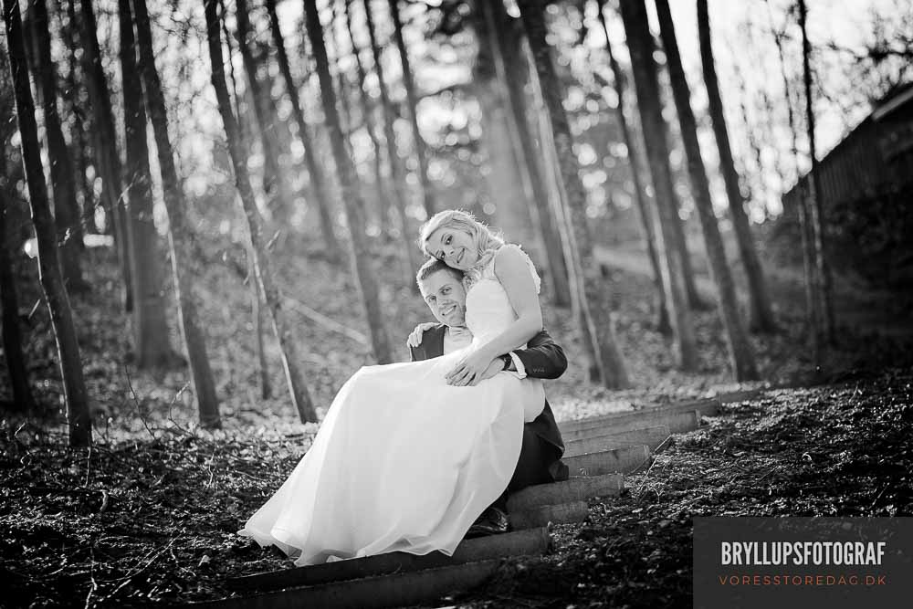 Professionelle bryllupsportrætter