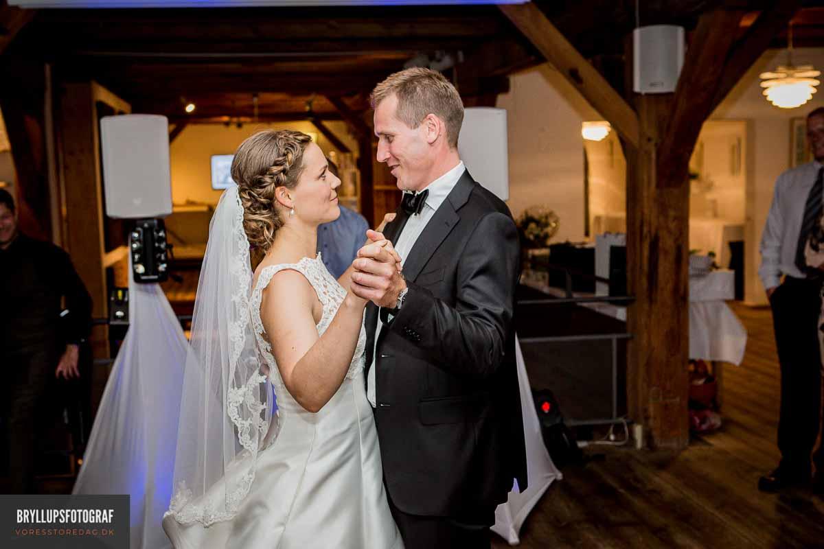 Hvordan bliver jeres brudevals?
