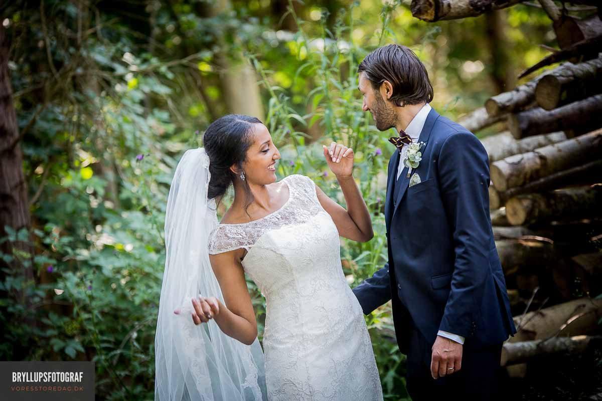 Hele processen omkring bryllupsfotograferingen